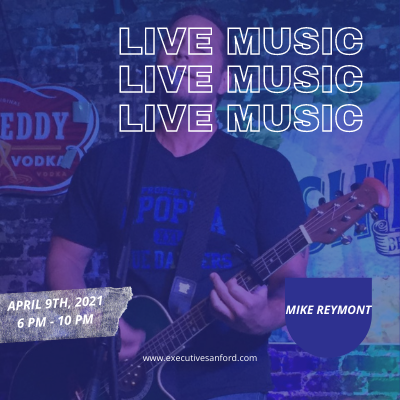 Live Music With Mike Reymont – Executive Cigar Shop & Lounge, Sanford
