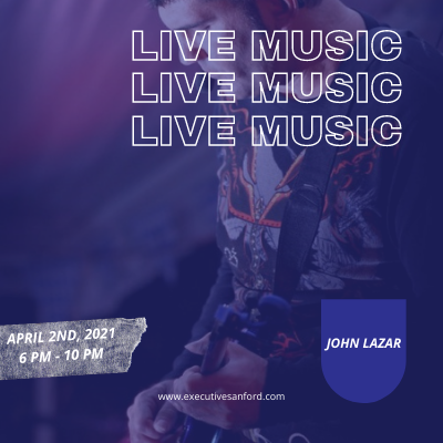 Live Music With John Lazar – Executive Cigar Shop & Lounge, Sanford