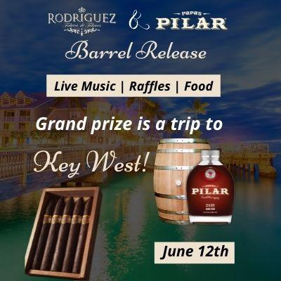 Rodriguez Cigars and Papa's Pilar Rum Barrel release – Executive Cigar Shop & Lounge